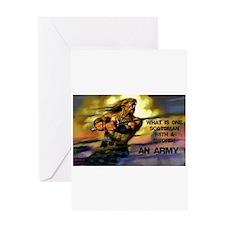 Scottish Army Greeting Cards