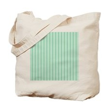 Green Diagonal Pattern Tote Bag