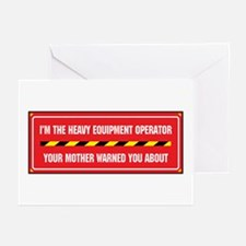 I'm the Operator Greeting Cards (Pk of 10)