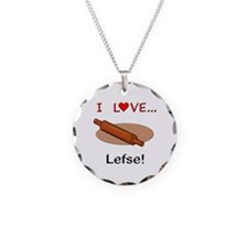 I Love Lefse Necklace