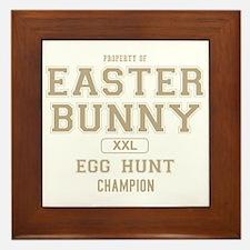 Property of the Easter Bunny Framed Tile