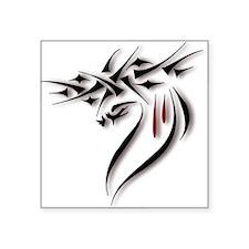 Jesus Crown of Thorns Oval Sticker
