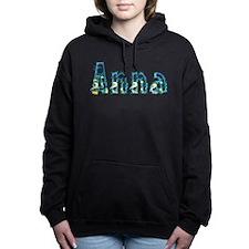 Anna Under Sea Hooded Sweatshirt