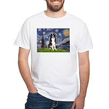 Starry Night Border Collie Shirt