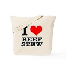 I Heart (Love) Beef Stew Tote Bag