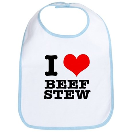 I Heart (Love) Beef Stew Bib