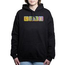 Luke Foam Squares Hooded Sweatshirt