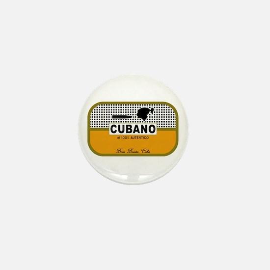 CUBANO el 100% Autentico Alternate Mini Button
