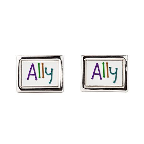 Ally Play Clay Cufflinks
