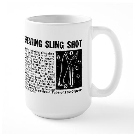 SLING SHOT Large Mug