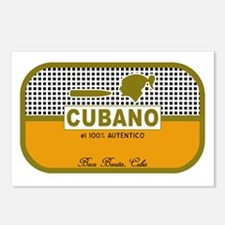 CUBANO el 100% Autentico Postcards (Package of 8)