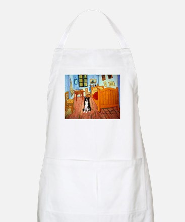 Room with Border Collie Apron