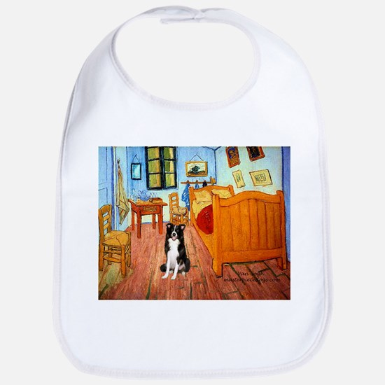 Room with Border Collie Bib