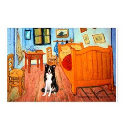 Room with Border Collie Postcards (Package of 8)