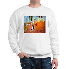 Room with Border Collie Sweatshirt