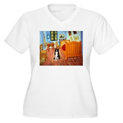 Room with Border Collie T-Shirt