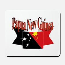 PNG FLAG RIBBON Mousepad
