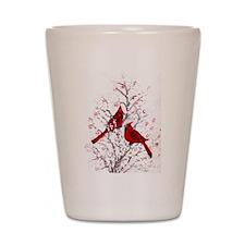 Cardinal Clan Shot Glass