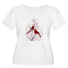 Cardinal Clan Plus Size T-Shirt