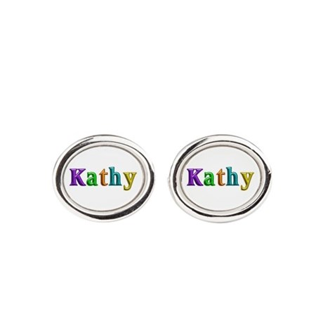 Kathy Shiny Colors Cufflinks