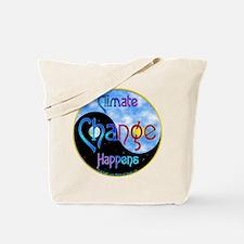 climatehappensyinyanglarge.png Tote Bag