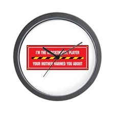 I'm the Player Wall Clock