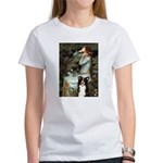 Ophelia & Border Collie Women's T-Shirt