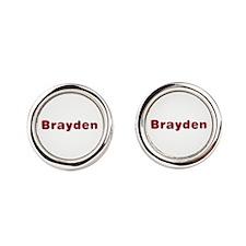 Brayden Santa Fur Cufflinks