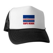Cape Verde Flag Trucker Hat