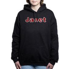 Janet Santa Fur Hooded Sweatshirt