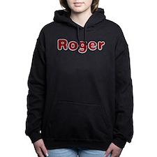 Roger Santa Fur Hooded Sweatshirt