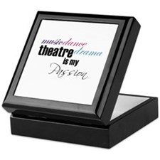 Theatre is my passion Keepsake Box