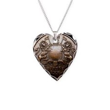 1835 British East India Compa Necklace Heart Charm