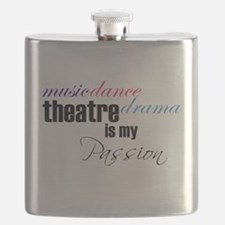 Theatre is my passion Flask