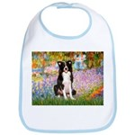 Garden & Border Collie Bib