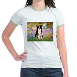 Garden & Border Collie Jr. Ringer T-Shirt