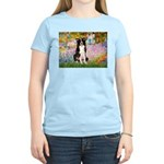 Garden & Border Collie Women's Light T-Shirt
