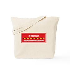 I'm the Gymnast Tote Bag