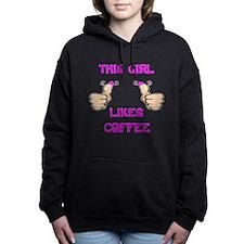 This Girl Likes Coffee Hooded Sweatshirt