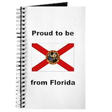 Cute Florida flag Journal