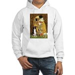 The Kiss & Border Collie Hooded Sweatshirt