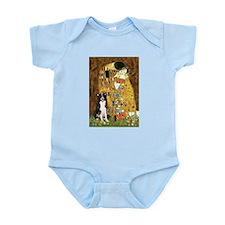 The Kiss & Border Collie Infant Bodysuit