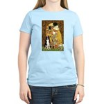 The Kiss & Border Collie Women's Light T-Shirt