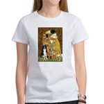 The Kiss & Border Collie Women's T-Shirt