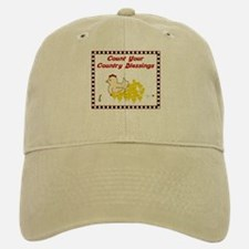 Country Blessings-Hen- Baseball Baseball Cap