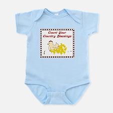 Country Blessings-Hen- Infant Bodysuit