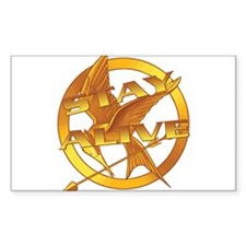 Hunger Games Stay Alive Decal