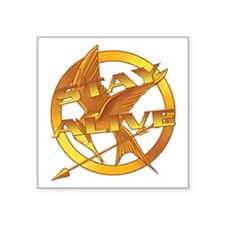 Hunger Games Stay Alive Sticker