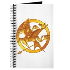Hunger Games Stay Alive Journal