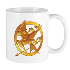 Hunger Games Stay Alive Mugs